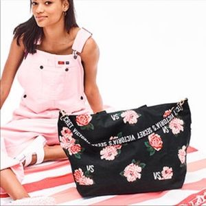 Victoria Secrets Limited Edition Floral Tote